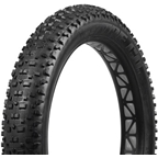 "Vee Tire Co. Snowshoe Fat Bike Tire: 26"" x 4.5"" 72tpi Folding Bead MPC Compound, Tubeless Ready, Black"
