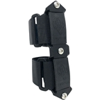 TwoFish Quick Cage 3 Bolt Adapter: Black Anodized