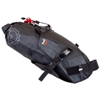 Revelate Designs Terrapin System Seat Bag: 8L, Black
