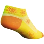 SockGuy Classic Sunshine Socks - 1 inch, Yellow, Women's