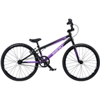 "Radio Xenon Junior BMX Race Bike - 18.5"" TT, Black/Metallic Purple"