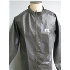 O2 Element Series Cycling Jacket with Stuff Sack, Graphite Gray
