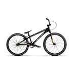 "Radio Helium Cruiser 24"" BMX Race Bike - 21.5"" TT, Black/Gold"