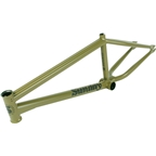 "Sunday Soundwave V3 BMX Frame - 21"" TT, Matte Army Green"