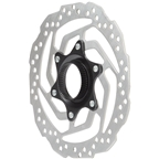 Shimano Altus SM-RT10-S Disc Brake Rotor - 160mm, Center Lock, For Resin Pads Only, Silver