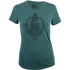 Surly Trail Snacks Women's T-Shirt - Dark Green, Dark Cyan
