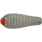 Big Agnes Inc. Pluton UL 40F Sleeping Bag - 850-Fill DownTek Gray/Pumpkin