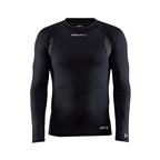 Craft Active Extreme X Crew Neck Base Layer Top, Long Sleeve, Black