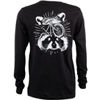 Surly Garbage Patrol Long Sleeved Tee - Black/White