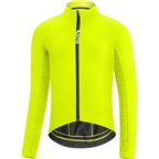 GORE C5 Thermo Men's Jersey, Neon Yellow/Citrus Green