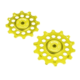 Kogel Bearings Hybrid Ceramic Derailleur Pulleys SRAM Eagle - Gold