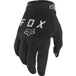 Fox Racing Ranger Youth Full Finger Glove: Black