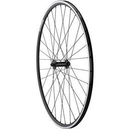 Quality Wheels Front Road Rim Brake 700c 100mm QR Alex DA22 Black / Shimano Tiagra RS400 Black / DT Stainless Steel