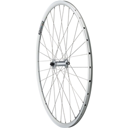 Quality Wheels Front Road Rim Brake 700c 100mm QR Alex DA22 Silver / Shimano Tiagra RS400 Silver / DT Stainless Steel