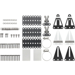 Surly Front Rack Hardware Set, Updated Plates