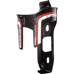 FSA K-Force Carbon Water Bottle Cage with Bolts: Black
