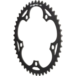 Sugino 46t Chainring 130mm Black 1/2x1/8""