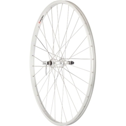 Quality Wheels Value Series 1 700c Formula Freewheel 130mm 32h, Alex Y2000 Silver, 2.0 Silver, Br, 3x