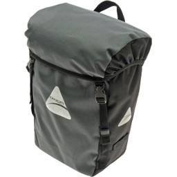 Axiom Kingston Commuter Single Pannier: Gray/Black; Each