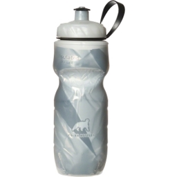 Polar Insulated Pattern Water Bottle: 20oz; White