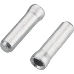 Jagwire Cable End Crimps, Silver