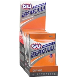 GU Electrolyte Brew: Orange; Box of 16 Packs