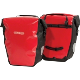 Ortlieb Back-Roller City Rear Pannier (pair) - Red/Black