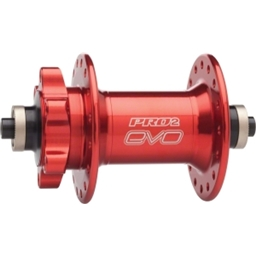 Hope Pro 2 Evo Front Disc QR Hub 32h Red