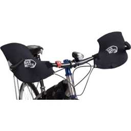 Bar Mitts Handlebar Mittens for Mountain Flat Bars with Bar Ends