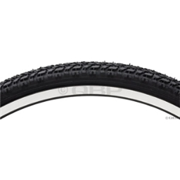 "Vee Rubber 26 x 1.9"" Steel Bead Semi Knobby Tire"
