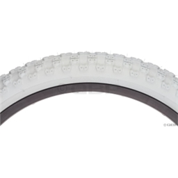 "Kenda K50 24 x 2.125"" White Tire"