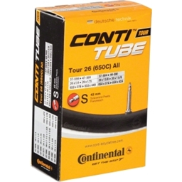 "Continental 26 x 1.4-1.75"" 42mm Presta Valve Tube"