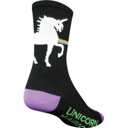 SockGuy Unicorn Express Sock: Black