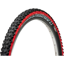 """Panaracer Fire XC Pro Tubeless Compatible 26 x 2.1"""" Black/Red"""