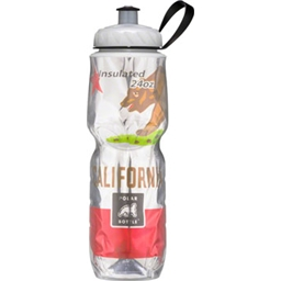 Polar Insulated Water Bottle: 24oz, California State Flag