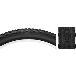 "Maxxis Ardent Mountain Tire 26 x 2.4"" Dual Compound, Tubeless-ready, EXO puncture protection: Black"