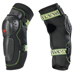 Dainese Oak Hard Short Evo Knee Guard, Black