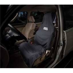 Race Face Car Seat Cover: Black One Size