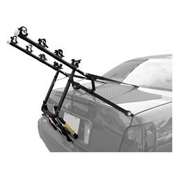 Sunlite TB-440 Sport Lift Trunk Mounted Car Rack - 4 Bike Capacity