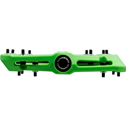 "9//16/"" Green RaceFace Chester Composite Platform Pedal"