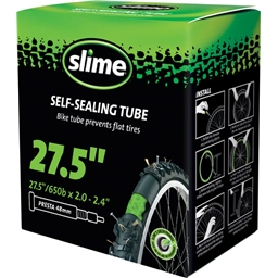 "Slime Self-Sealing Tube 27.5 x 2.0-2.4"", 48mm Presta Valve"