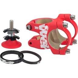 Answer ATAC AME 31.8 Stem 30mm +/- 0 Degree, Red