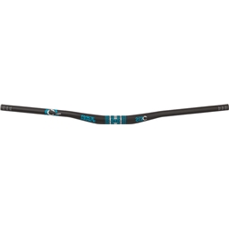 "Race Face SixC Riser Carbon Handlebar: 31.8 x 785mm 3/4"" Rise Turquoise"