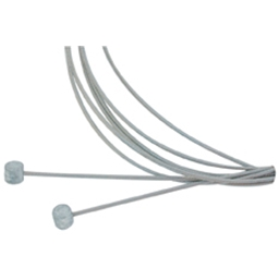 Aztec Stainless Brake Cable Set Road - Front/Rear