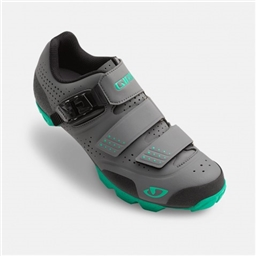Giro Women's Manta R Shoe Charcoal/Turquoise