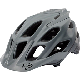 Fox Racing Flux Helmet: Gray