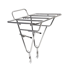 Soma Deluxe Porteur Front Cargo Rack - Stainless Steel