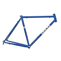 Soma ES Road Frame - 48cm - Pacific Blue