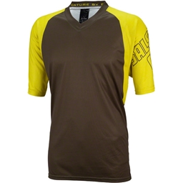 Salsa Devour Men s Short-Sleeve Jersey  Olive Yellow - Modern Bike 7d43c9f52