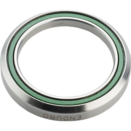 """ABI 1 1/4"""" 45 x 45 Degree Stainless Steel Angular Contact Bearing 34.1mm ID x 46.8mm OD x 7mm wide"""
